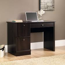 Walmart Computer Desk With Side Storage by Sauder Computer Desk Cinnamon Cherry Walmart Com