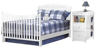 Halo Bed Rail by Sorelle Presley Crib And Changer Toddler Guard Rail Espresso