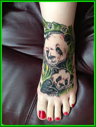 Awesome My First Tattoo Mother Daughter Panda Bear Picture Of Ideas For Baby Girl Styles And