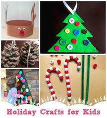 Easy Crafts To Make At Home For Kids Christmas Project