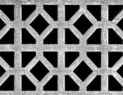 Decorative Metal Banding Material by Perforated Material Punched In A Named Decorative Pattern