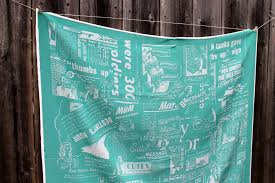Theater Curtain Fabric Crossword by Diy Silk Scarf From Newspaper Clippings Spoonflower Blog