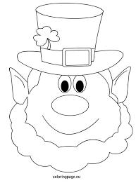 Website Inspiration Leprechaun Coloring Pages