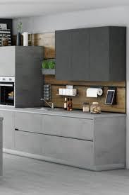 grifflose küchenzeile haus küchen küche betonoptik