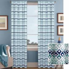 Teal Chevron Curtains Walmart by Better Homes And Gardens Morocco Curtain Panel Walmart Com