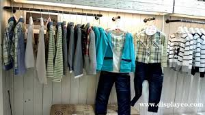 Clothes Display Rack Stand Store Fixtures Clothing