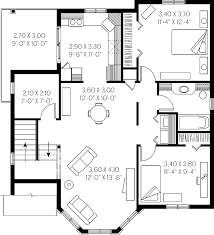 Photo Of Floor Plan For 2000 Sq Ft House Ideas by House Plans Cottage House Plans