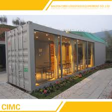 100 Ocean Container Houses Mobile Shipping Coffee Shop Bar View
