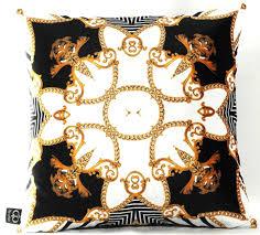 casa padrino luxus barock kissen schwarz weiß gold 45 x 45 cm feinster samtstoff wohnzimmer deko accessoires