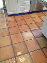 Saltillo Tile Cleaning Los Angeles by Saltillo Tiles Before And After Images