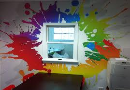 Splatter Paint Bedroom Room Image And Wallper 2017