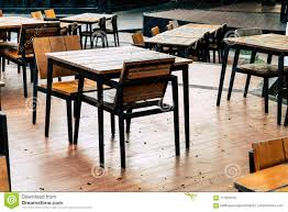 Empty Wood Table And Chair In Outdoor Restaurant Stock Image - Image ... Empty Table Chair Restaurant Boost Color Stock Photo Edit Now Ding Set For Dinner Room Small Cherry Style Contemporary Fniture Kids And Cafe Bistro Tables Chairs Droughtrelieforg Modern Industrial Bar Stools Rustic And Flash 36inch Round With Four Products Vector Table Chair Two Flat Icon Isolated Fniture Side Stool Supply Discount Find More For Sale At Up To 90 Coffee Terrace With Classic Shop Blur