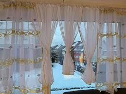 ines sehr schöne fertig gardine gardine stores vorhang gold
