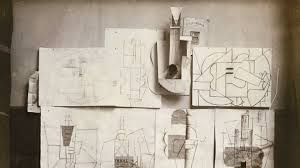 Picasso Still Life With Chair Caning Analysis by Inventing Cubism Article Khan Academy