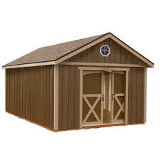 10x20 Storage Shed Kits by Handy Home Products Sequoia 12 Ft X 24 Ft Wood Storage Building