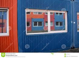 100 Containers As Houses For Housing Stock Image Image Of Mirrored 45763711