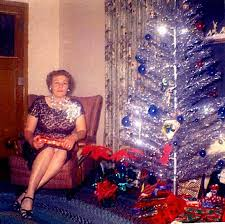 Website Visitor Anna Bates Shares This Picture And Memories Of Her Mother With Us Referring To Their First Aluminum Christmas Tree Writes I Still