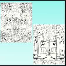 Back To School Coloring Pages Zen Doodles