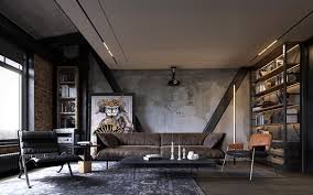 4 apartments that turn up the on industrial style