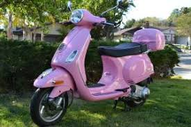 Modern Vespa 9829 For Sale Pink 2010 LX 150 With
