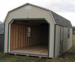 Wood Amish Built e Car Garages For Sale in Virginia and West