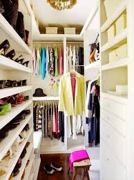 Super Small Walk In Closet With A Smart