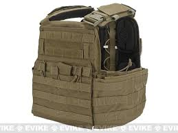Crye Precision CAGE Plate Carrier And Pouch Set Color Coyote Large
