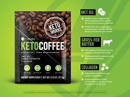 Amazon It Works Keto Coffee Gift Bag With 5 Individual Instant Packets Grass Fed Butter And Medium Chain Triglycerides MCTs Health