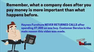 Haynes Furniture Virginia Beach Buyer Beware of This Furniture