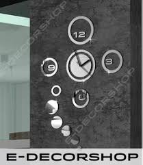 Ebay Decorative Wall Mirrors by Great Design Wall Clock Mirror Love For All Home Decoration Ebay