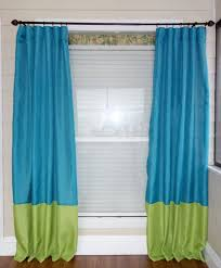 Green Striped Curtain Panels by Best 25 Color Block Curtains Ideas On Pinterest Blue Flat