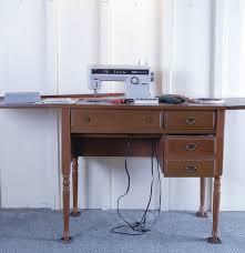 sears kenmore sewing machine and cabinet ebth
