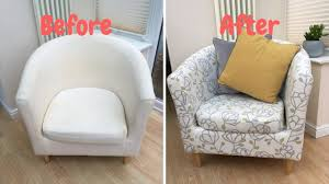 HOW TO RE COVER AN IKEA TUB CHAIR Chair Fabulous Tub Slipcover With Gorgeous New Millenial Slip Covers Wayfairca Regal Mills Easystretch Cover Linen 056436 Classic Amazoncom How To Make Arm Slipcovers For Less Than 30 Howtos Diy Small Ideas On Foter Pulaski Barrel Back With Casters In Surprising Design Of Armless