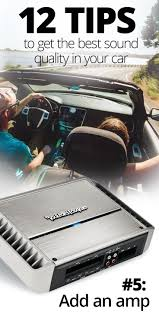 12 Tips For Getting The Best Sound Quality In Your Car | Car/truck ... Looking For Car Audio Accsories Shop Cars N Trucks Pinterest Sonic Booms Putting 8 Of The Best Systems To Test Cheap 10 Boss Subwoofer Find Deals On Line At What Is The Size And Type My Music Taste Blog Stereo Lagrange Ga Audiotrenz Truck Fleet Expands For 2017 Cmt Sound Pics Sound Systems Dodge Dakota Forum Custom Forums New Auto Radio Fm Antenna Signal Booster Amp Amplifier 10x 35mm Bluetooth Speaker Receiver Adapter Products Rts News Bosch Unveils Industry Biggest Exhibit
