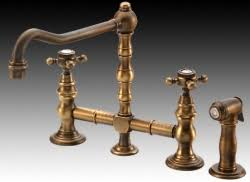 Unlacquered Brass Bathroom Faucet by Kitchen Faucets Product Review Bridging The Past From Harrington