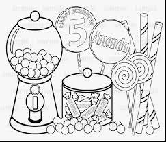 Astonishing Printable Candy Coloring Pages With Cane Page And
