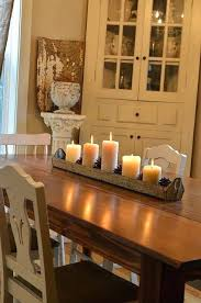 Sublime Centerpieces For Dining Room Table Candles Including Glamorous Tip