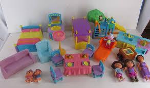 fisher price dora the explorer talking doll house furniture