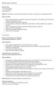 Resume For Kitchen Staff Sle By Of A Chef Pizza Basic