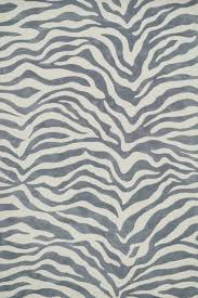 Grey Animal Print Cassidy Rug by Loloi Rugs RosenberryRooms