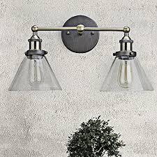 claxy ecopower simplicity industrial edison antique glass 2 light