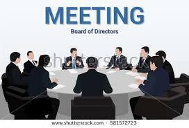 Meeting Board Directors Negotiation Stock Vector