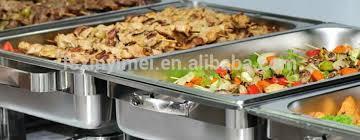 Rectangular Roll Top Chafing Dish Food Warmer