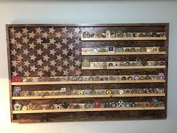 DIY Wooden Flag Coin Holder 30