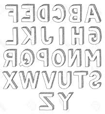 3D Alphabet Pencil Letters How To Draw The Alphabet In 3D Letters