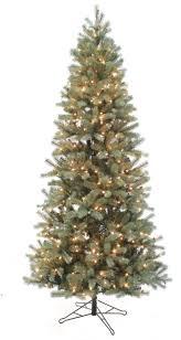 Douglas Fir Slim Pre Lit Artificial Christmas Tree