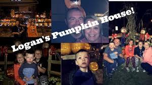 Kenova Pumpkin House 2017 by Logan U0027s First Pumpkin House Youtube