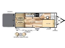 Wildwood Fifth Wheel Floor Plans Colors Wildwood X Lite Toy Hauler Travel Trailer Rv Sales 3 Floorplans