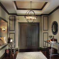 chandelier entry light fixtures contemporary foyer