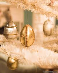 Saran Wrap Christmas Tree With Ornaments by Faberge Egg Ornaments Martha Stewart